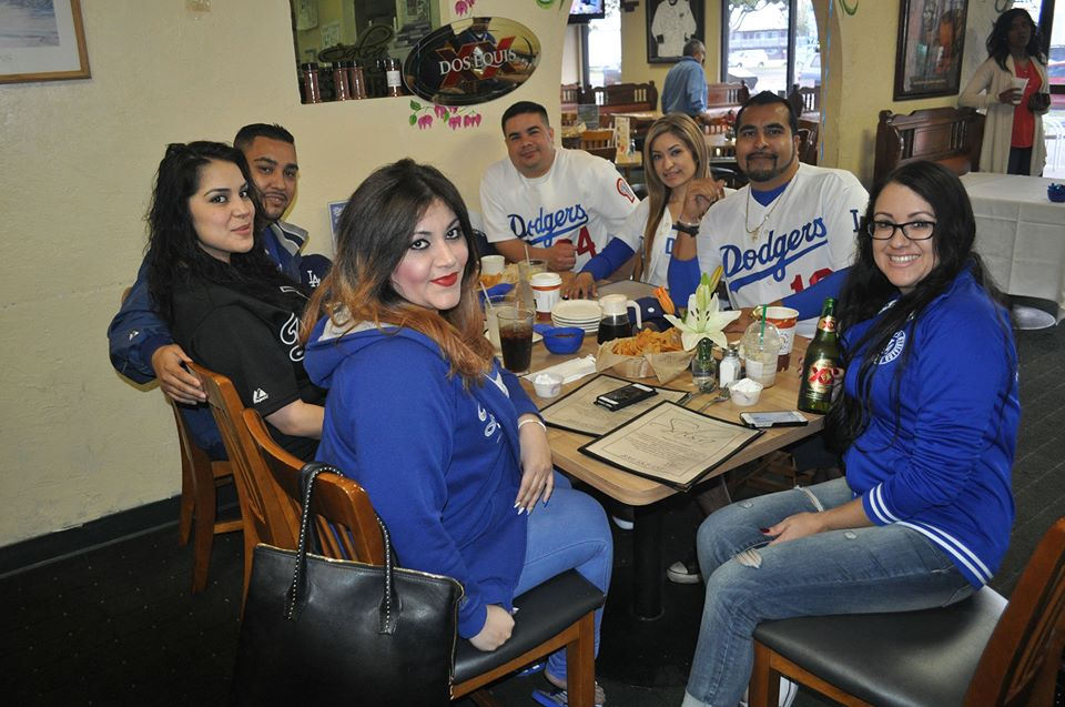 Dodger Opening Day 2015 at Salsa Grill
