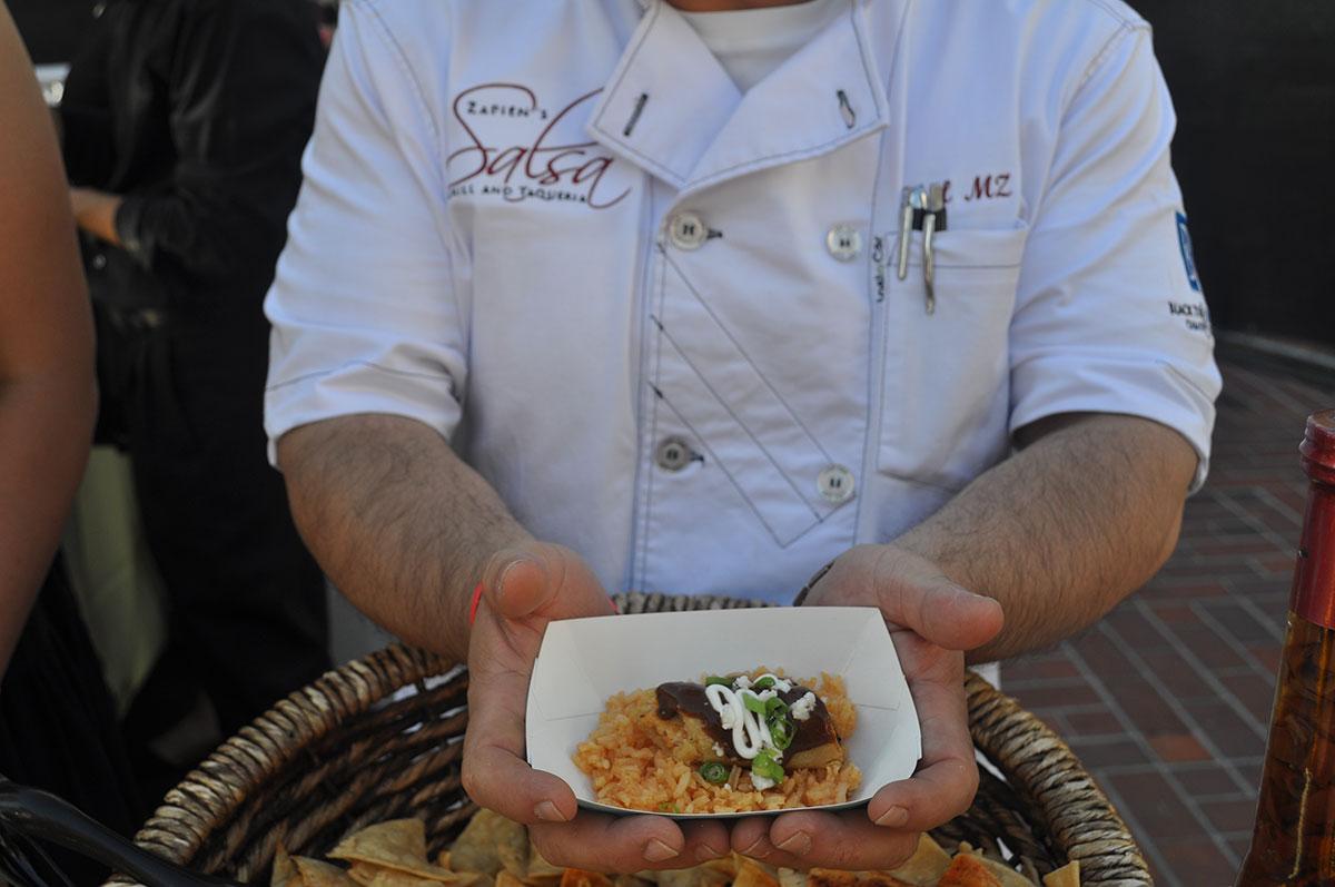 Chef Marco Zapien at East LA Meets Napa 2015