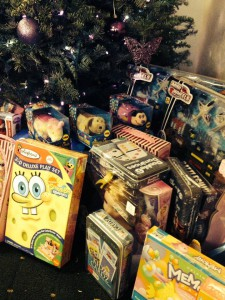 The Salsa Grill's Holiday Toy Drive
