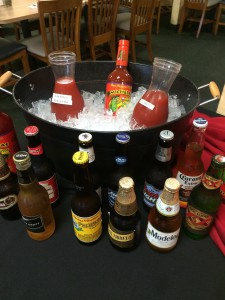 Michelada Bar at The Salsa Grill