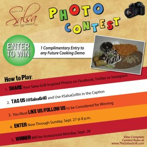 Salsa Grill Photo Contest
